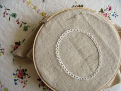 embroider a frame