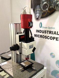#Microscopio OMEK con #camara Goldeye de @alliedvisiontec