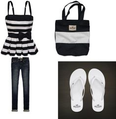 """""""Hollister outfit"""" by bailey515 on Polyvore"""