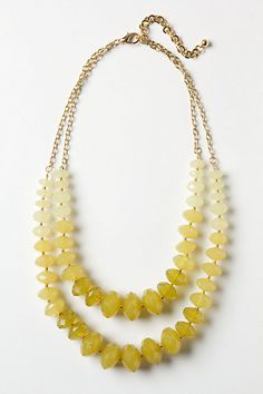 Lily Mineral Necklace by Anthropologie