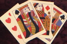 18th Century English cards  Retail and wholesale pricing available.