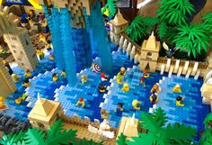 Amazing work from LEGO Master builders: Recreating the new LEGOLAND Legends of Chima Water Park