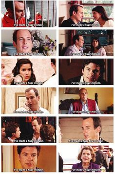 """Arrested Development - the most common line on Arrested Development: """"I've made a huge mistake"""""""