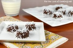 Frozen Chocolate Covered Banana Slices Topped with Coconut