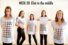 WANT THIS T-SHIRT for when I am pregnant!  What a cool idea!