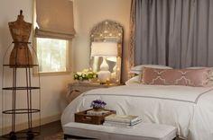 mediterranean bedroom by Laura Martin Bovard