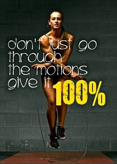 Give it your all!