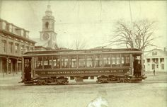Trolley on Grafton Common