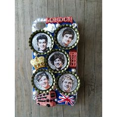 One Direction Phone Case iPhone 4 ($22) found on Polyvore