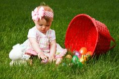 easter baby photo idea