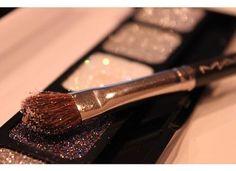 MAC glitter eyeshadow......LOVE,LOVE,LOVE!!!!!!