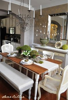 dining room idea - Home and Garden Design | http://homedesigncollections.blogspot.com