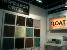 Float Glass Design at Surface Design show