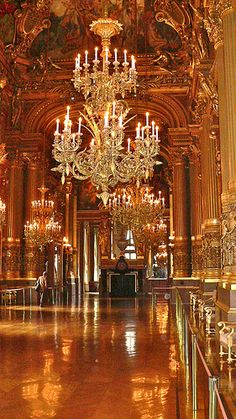 Opéra, Palais Garnier - Foyer