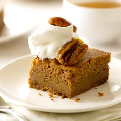 Fall Family Desserts