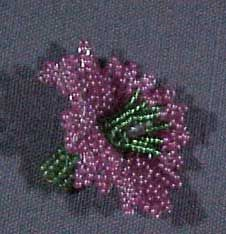 Basic Ndebele Bead Flower pattern by Barbara Henthorn at Bead-Patterns.com