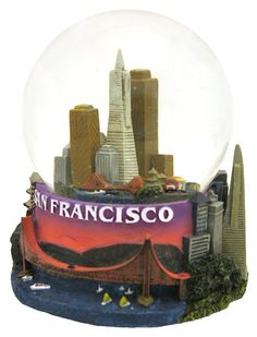 San Francisco snow globe