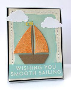 Go Overboard, Cloud Cover-Up Die-namics, Sailboat Die-namics - Jody Morrow #mftstamps