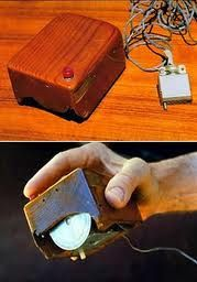 Computer mouse - invented in 1964 by Douglas Engelbart, USA.