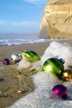 christmas cards, sand, beachi christma, australia, ornament, at the beach, beach christma, christmas in california, coastal christmas