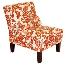 Armless Chairs On Pinterest Armless Chair Accent Chairs And Seat Cushions