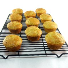 Bacon and Onion Corn Muffins
