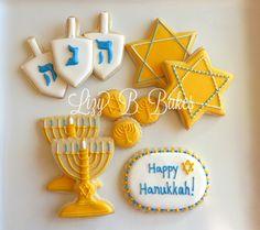 Nice Hanukkah cookies.