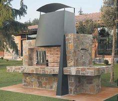 Espacios para barbacoas mario casas on pinterest for Garden rooms rocal