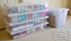 Organizing and storing Christmas Decorations » The Organised Housewife
