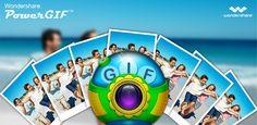 PowerGIF, Wondershare, GIF, GIF maker, PowerCam
