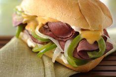 Hearty Cheesesteak Sandwich recipe