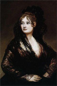 Doña Isabel de Porcel - Francisco de Goya.