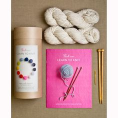 Fall is the perfect time to pick up a new craft. Knitting is a classic (and useful!) option.