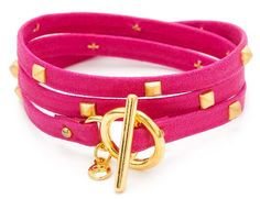 Gorjana jewelry Graham sunset leather wrap bracelet | Cool Mom Picks