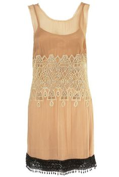 deco beaded dress - vintage style from topshop
