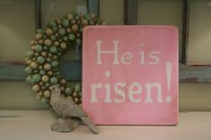 Cute Easter sign!