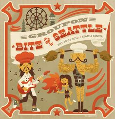 Bite of Seattle 2013 Tad Carpenter Creative