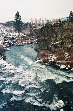 The Truckee River in January
