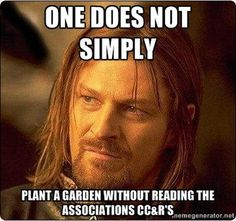 Oh no! Definitely check with your HOA! simpli, memes, stuff, daryl dixon, funni, doctor who, lord, leg workouts, true stories
