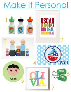 personalized decor for kids