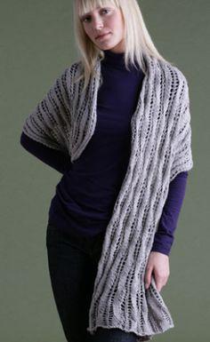 Lace Wrap - Free Knitting Pattern