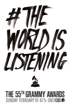 #TheWorldIsListening