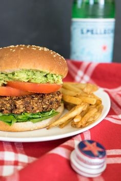 The Perfect Veggie Burgers--oatmeal, flaxseed, pinto beans