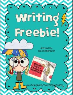 """Wacky Weather Writing FREEBIE to go along with """"Cloudy With A Chance of Meatballs"""""""