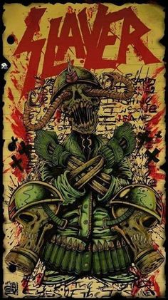 Slayer THis is the kinda album art that's MAYBE acceptable as a tattoo @Pratyush Kotturu Kotturu Kumar