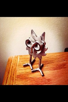Metal Art Baby Hoot by TheDaRkMetalArtStore on Etsy, $15.00