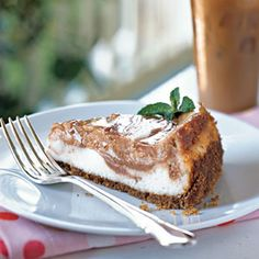 Guava-Swirled Cheesecake | MyRecipes.com