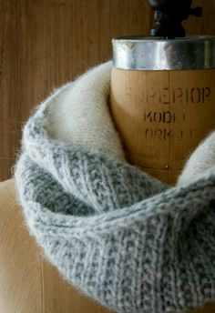 Laura's Loop: Shawl Collar Cowl - The Purl Bee - Knitting Crochet Sewing Embroidery Crafts Patterns and Ideas!