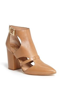 Leather Bootie