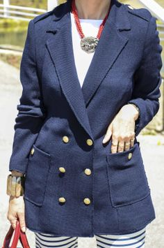 La nueva chaqueta marinera